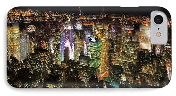 IPhone Case featuring the photograph Manhattan Skyline Empire State Wobbles by Andy Prendy