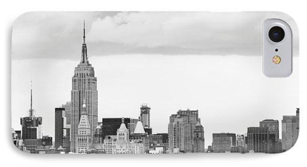 IPhone Case featuring the photograph Manhattan Skyline by Takeshi Okada