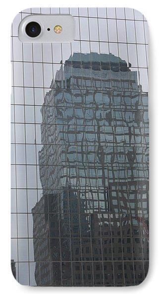 Manhattan Tower IPhone Case by Susan Alvaro