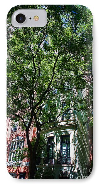 IPhone Case featuring the photograph Manhattan Upper East Side Late Summer by Andy Prendy