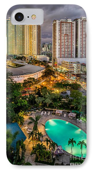 Manila City IPhone Case by Adrian Evans