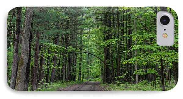 Manistee National Forest Michigan Phone Case by Steve Gadomski