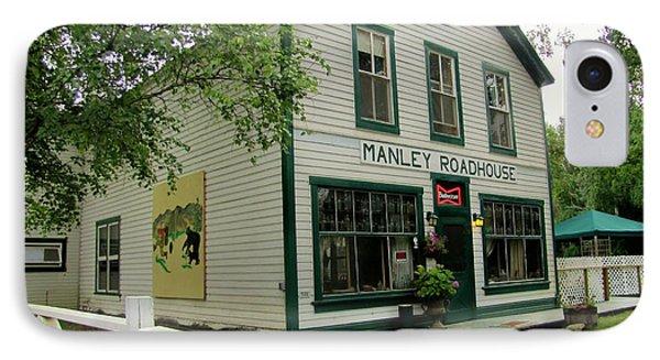 Manley Hot Springs Roadhouse Phone Case by Lisa Dunn