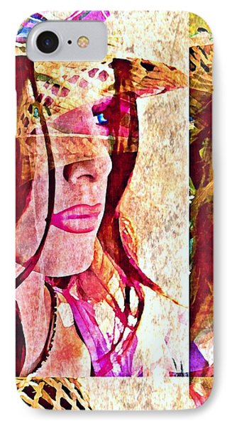 Mannequin 8 IPhone Case by Maria Huntley