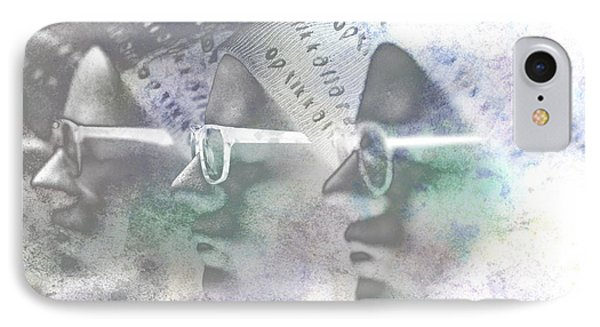 Mannequin With Glasses In Digital Art Phone Case by Tommytechno Sweden