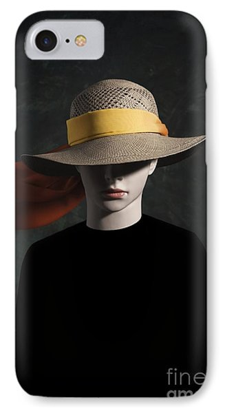 Mannequin With Hat IPhone Case