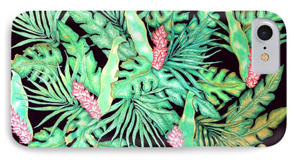 IPhone Case featuring the painting Manoa by Thomas Gronowski