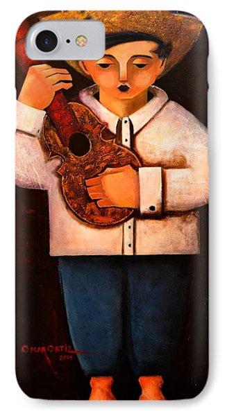 Manolito El Cuatrista 1942 IPhone Case by Oscar Ortiz