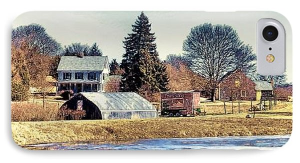 IPhone Case featuring the photograph Manomet Farm by Constantine Gregory