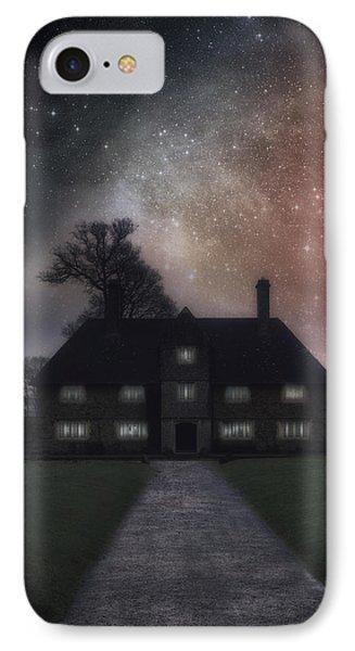 Manor At Night IPhone Case by Joana Kruse