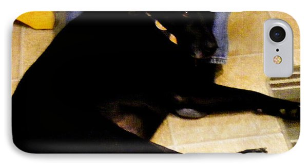 IPhone Case featuring the photograph Man's Best Friend by Barbara Griffin
