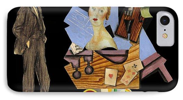Man's Companion Phone Case by Laura Botsford