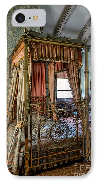 Mansion Bedroom IPhone Case by Adrian Evans