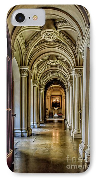 Mansion Hallway IPhone Case by Adrian Evans