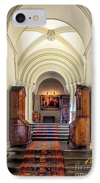 Mansion Hallway IIi IPhone Case by Adrian Evans