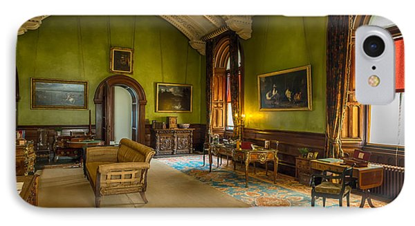 Mansion Lounge IPhone Case by Adrian Evans