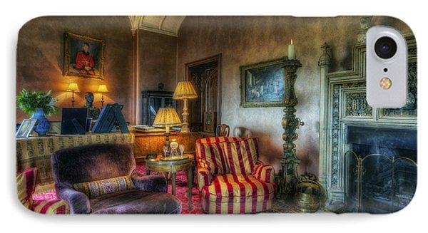 Mansion Lounge IPhone Case by Ian Mitchell