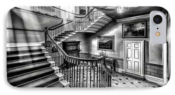 Mansion Stairway V2 Phone Case by Adrian Evans