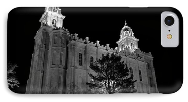 Manti Temple Black And White IPhone Case