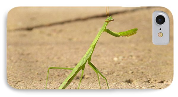IPhone Case featuring the photograph Mantis by Edwin Alverio