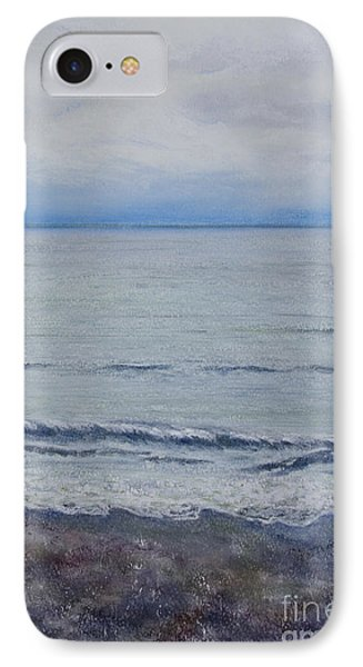 IPhone Case featuring the painting Manx Mist by Stanza Widen