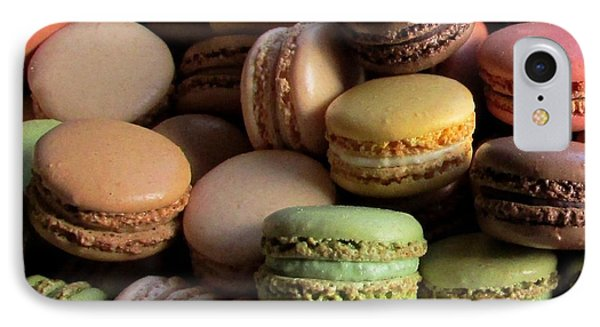 IPhone Case featuring the photograph Many Mini Macarons by Brenda Pressnall
