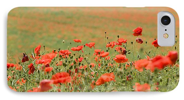 Many Poppies Phone Case by Anne Gilbert