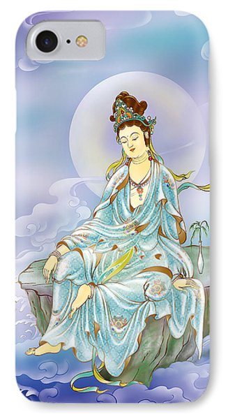Many Treasures Avalokitesvara  IPhone Case by Lanjee Chee
