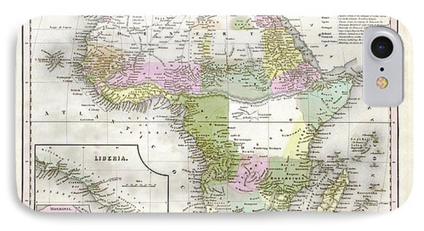 Map Of Africa IPhone Case