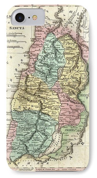 Map Of Ancient Palestine IPhone Case by Library Of Congress, Geography And Map Division