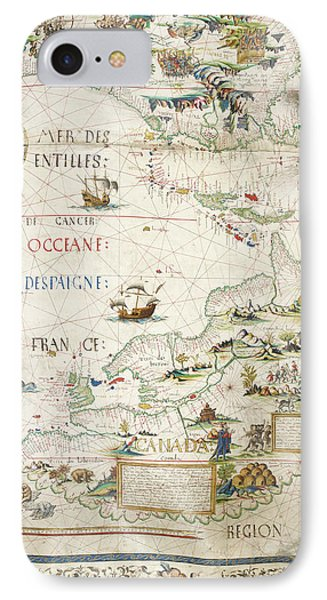 Map Of Canada IPhone Case by British Library