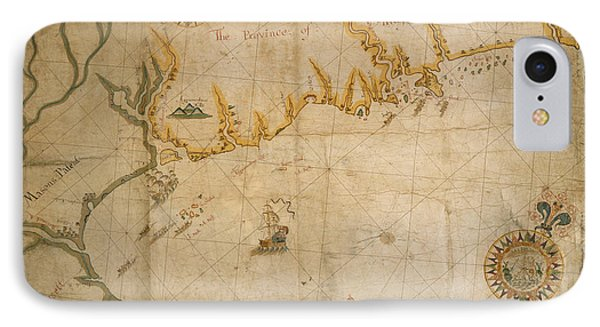 Map Of The Coast Of Maine IPhone Case by British Library