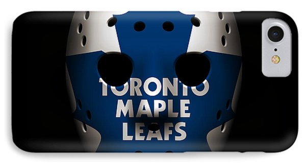 Maple Leafs Goalie Mask IPhone Case
