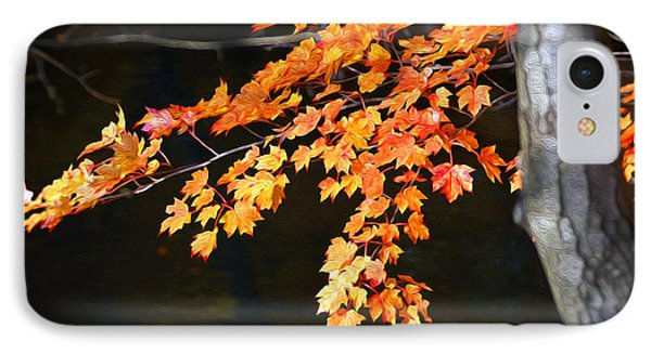 IPhone Case featuring the photograph Maple Leaves by Yue Wang