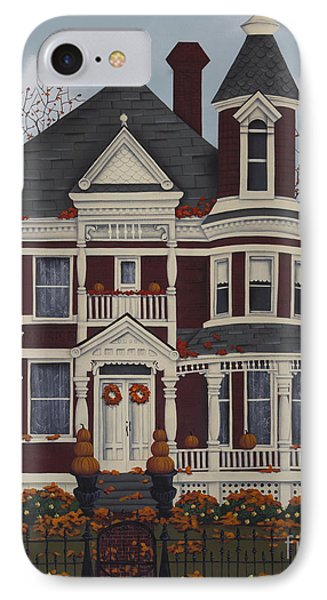 Maple Place IPhone Case by Catherine Holman