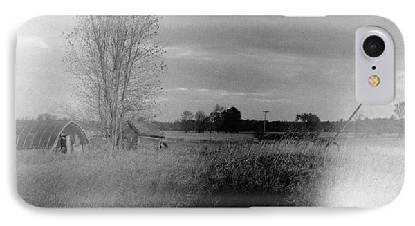 Maple Ridge Rd Farm IPhone Case by Daniel Thompson