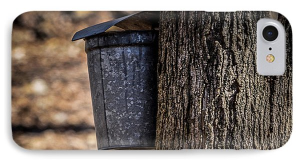 Maple Syrup Time Collecting Sap IPhone Case