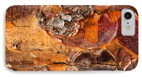 IPhone Case featuring the photograph Maple Tree Bark by Crystal Hoeveler