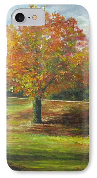 Maple Tree IPhone Case by Gloria Turner