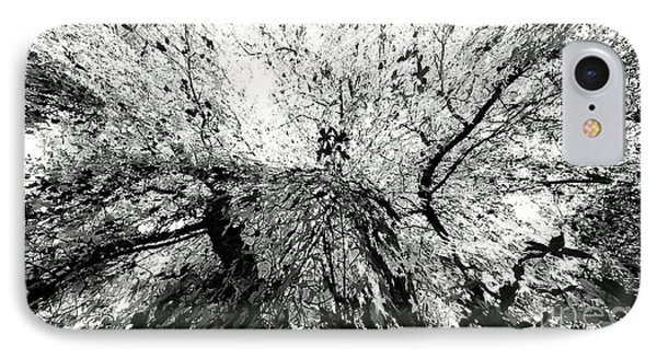 IPhone Case featuring the photograph Maple Tree Inkblot by CML Brown