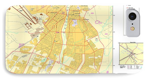 Maps Of Al Basrah And Kirkuk Iraq 2003 IPhone Case by MotionAge Designs