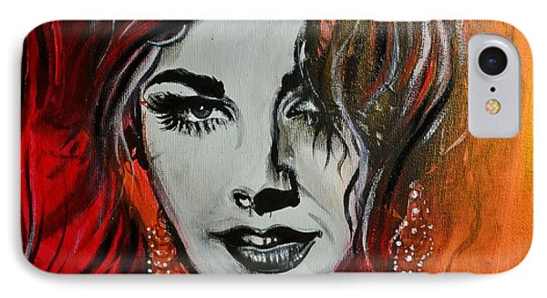 IPhone Case featuring the painting Mara by Sandro Ramani