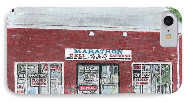 Marathon Deli Phone Case by Cliff Wilson