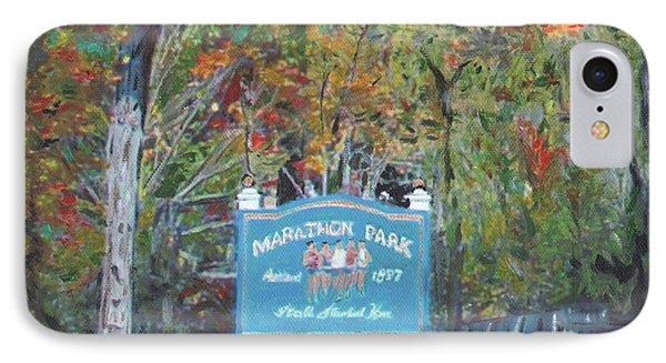 Marathon Park IPhone Case