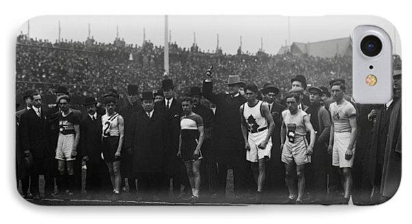 Marathon Race, 1909 IPhone Case by Granger