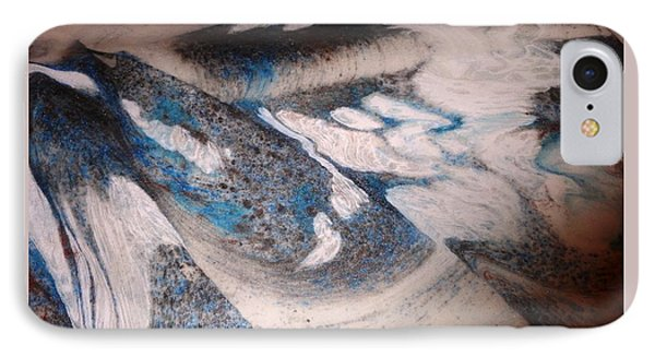 IPhone Case featuring the painting Marble 7 by Mike Breau