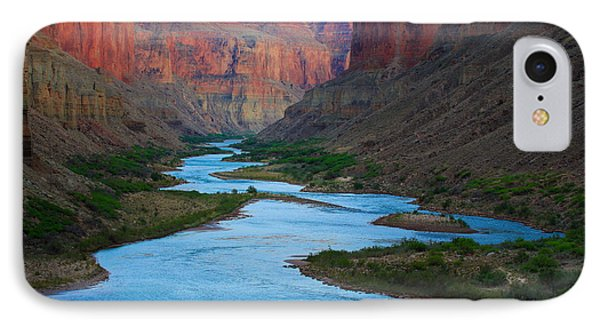 Marble Canyon Rafters Phone Case by Inge Johnsson