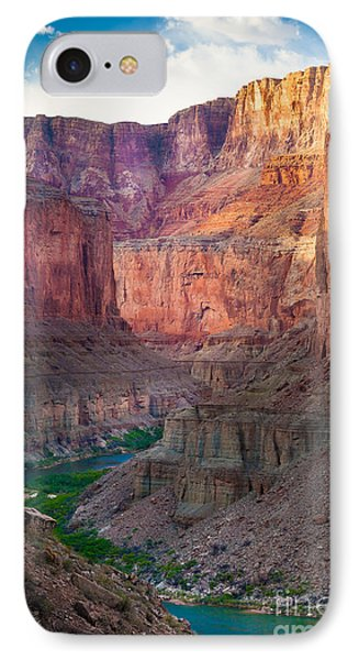 Marble Cliffs IPhone 7 Case by Inge Johnsson