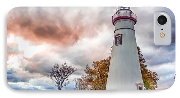Marble Head Lighthouse IPhone Case