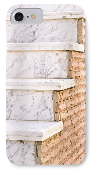 Marble Steps IPhone Case by Tom Gowanlock